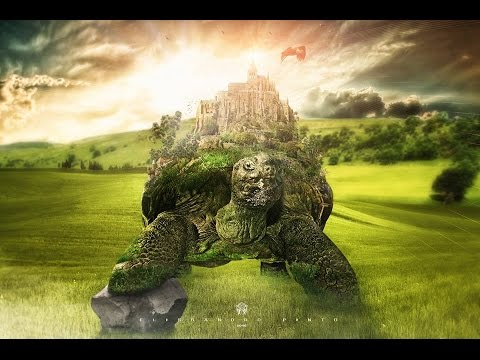 tutorial photoshop  Turtle Castle