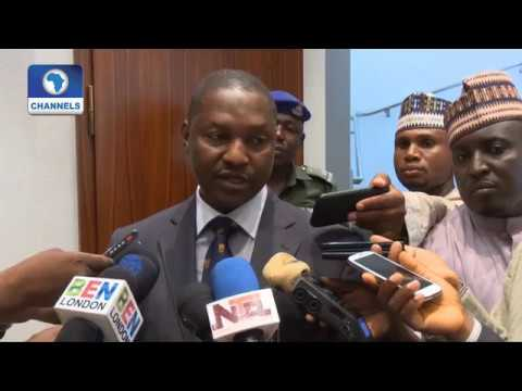 Buhari Resumes, Holds Separate Meetings With AGF, GMD NNPC