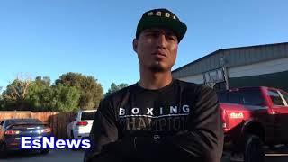 (BIG BALLS BRAND)  Mikey Garcia Wants To Fight Errol Spence Jr  EsNews Boxing