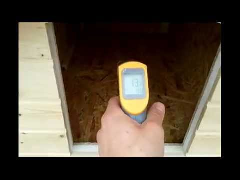 insulated dog house with heated floor and temperature regulator