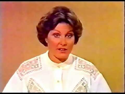 Nine o clock news BBC1 Angela Rippon 1978