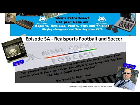 A5200 Podcast Episode 5A - Realsports Football and Soccer
