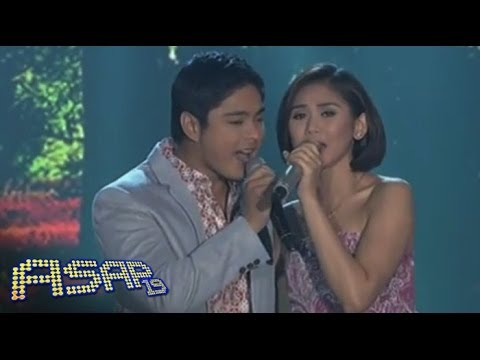 Sarah Geronimo, Coco Martin in 'Maybe This Time' duet on ASAP