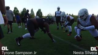 2017 the opening finals ol vs dl 1 on 1s day 1