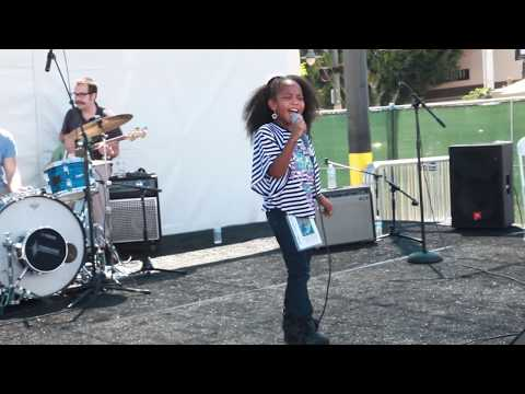 Harmony Love Bailey Performing At Leimert Park Los Angeles