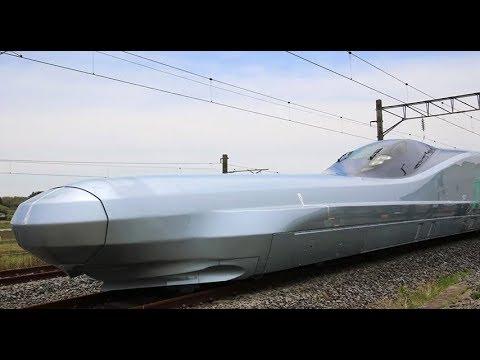 Jelang Olimpiade 2020, Jepang Uji Coba Kereta Peluru Tercepat di Dunia