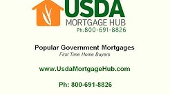 Popular Government Mortgages - First Time Buyer Programs 2019