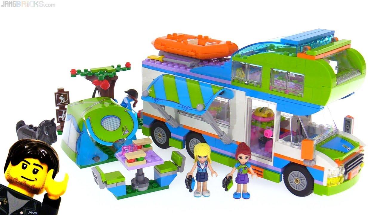 Lego Friends Mias Camper Van Review 41339 Youtube