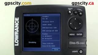 Лоуренс еліт 5 ДСІ керівництво відео - статус GPS