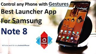Best Launcher Application for Samsung Galaxy Note 8