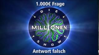 1.000€ Frage - Antwort falsch | Millionenshow Soundeffect