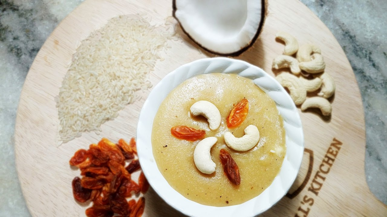 Kheersha (Coconut Kheer) - Chef Lall\'s Kitchen - YouTube