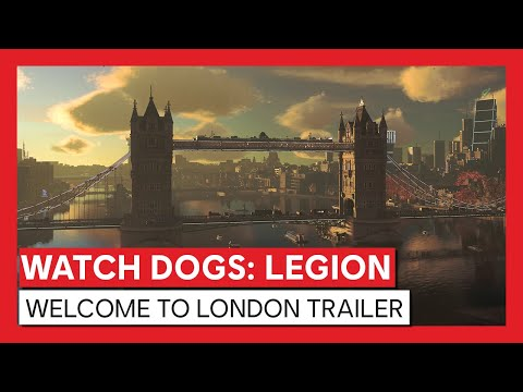 Watch Dogs: Legion - Welcome To London Trailer   Powered By NVIDIA GeForce RTX