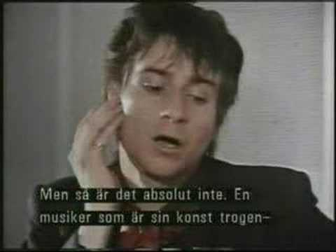 "Jerry Nolan from 1982 Swedish TV ""Studio 8"""