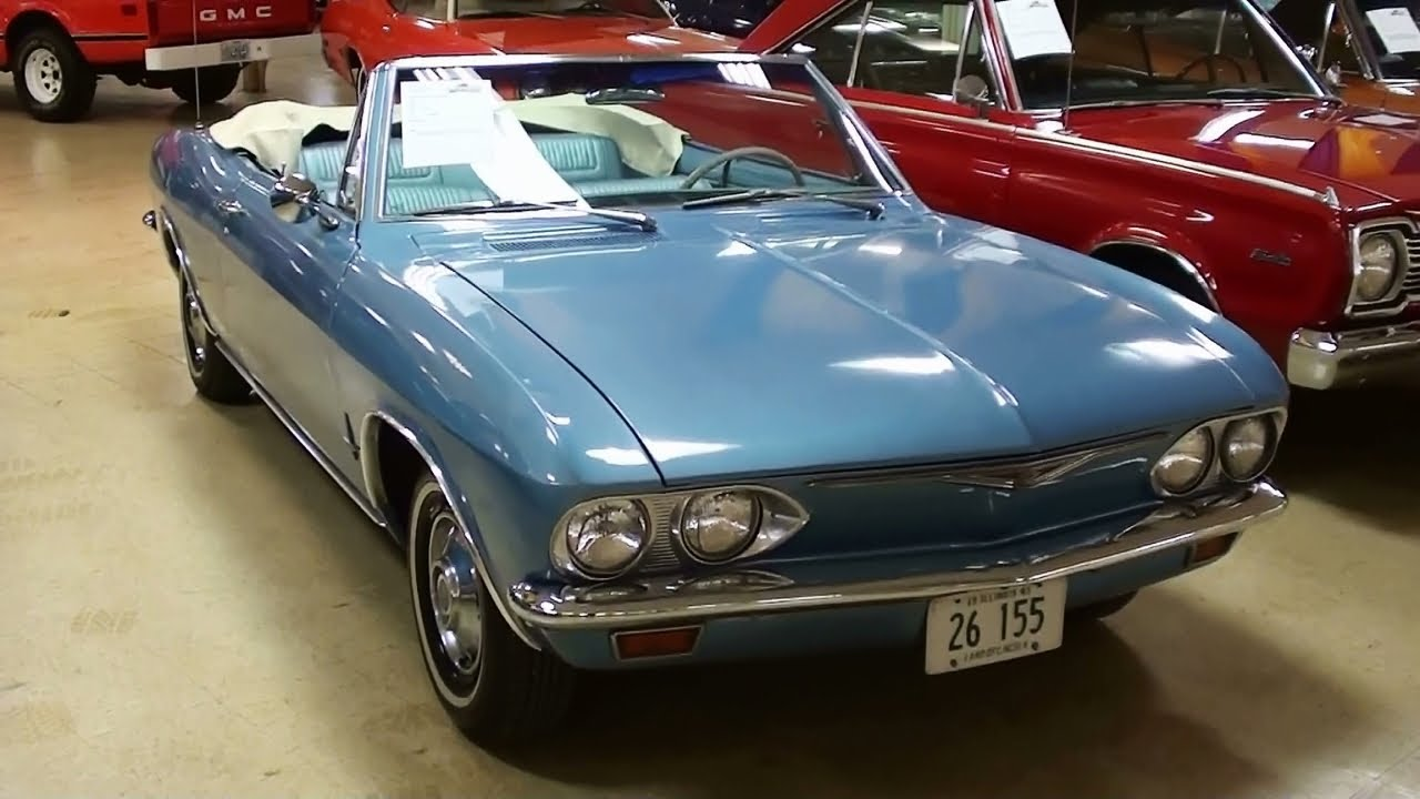 All Chevy chevy corvair monza : 1965 Chevrolet Corvair Monza Convertible - YouTube
