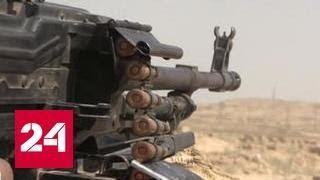 Сирийские боевики угодили в котлы