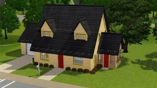 Building The Family Guy House In The Sims 3