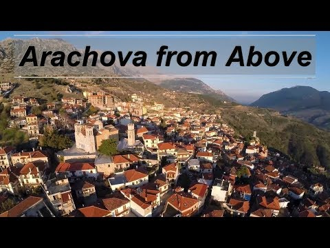 Arachova From Above | Greece