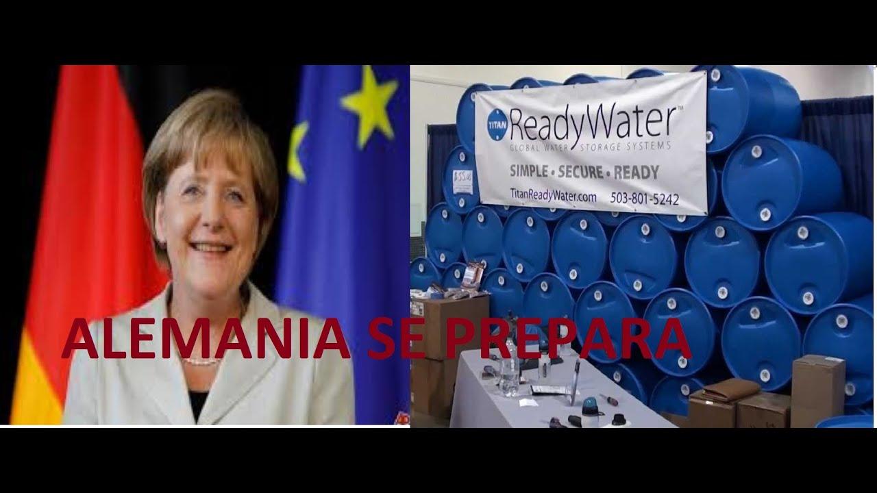 Resultado de imagen para plan defensa aleman agua y comida