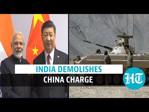 Watch: India's 3-point response to China over border infra amid Ladakh tension