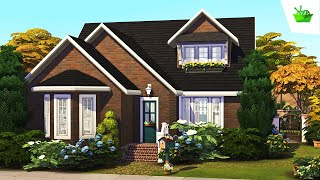 Grandma's Dream Cottage 🧶 \\ Nifty Knitting || The Sims 4: Speed Build