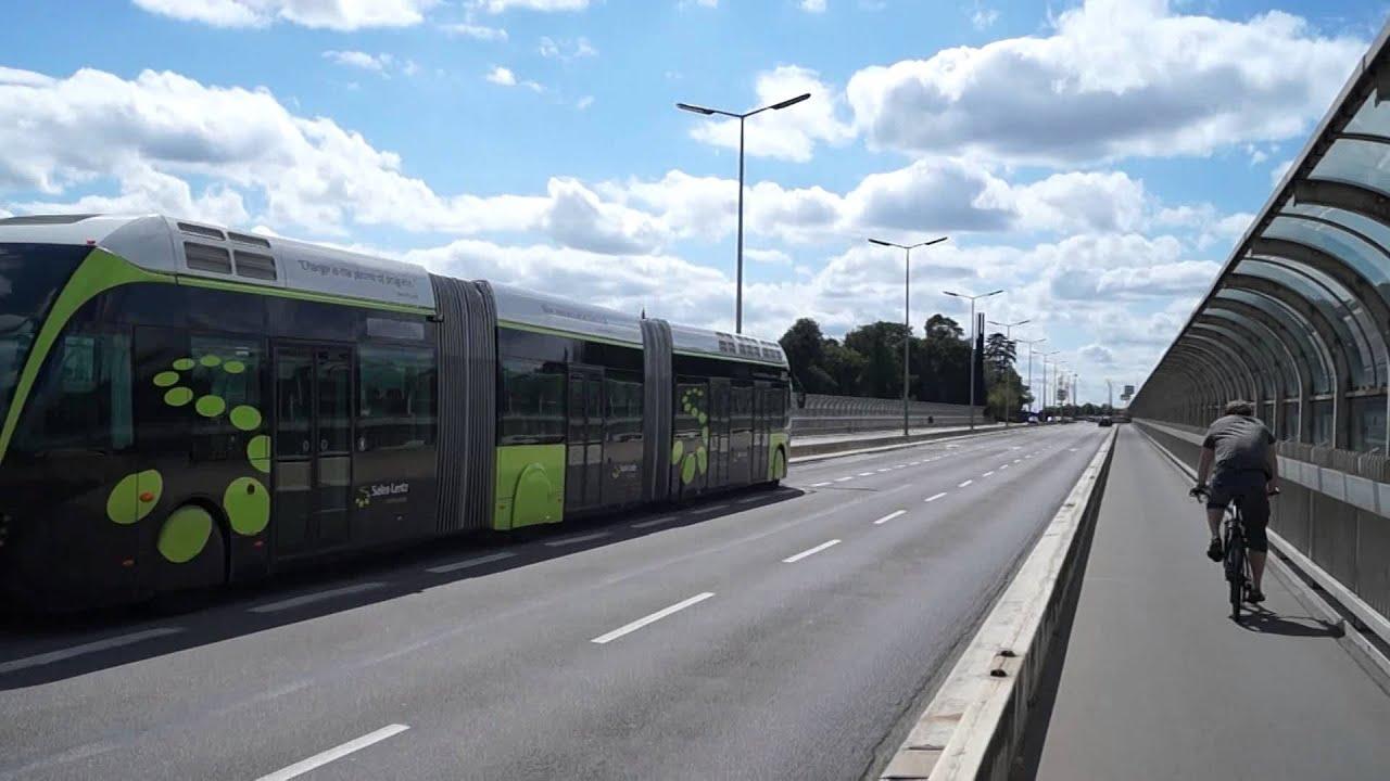 tram bus ville de luxembourg youtube. Black Bedroom Furniture Sets. Home Design Ideas