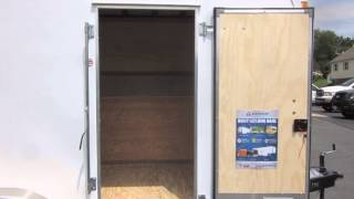 7' X 16' Contractor Trailer W/ Tool Storage Cabinets