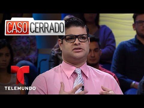 El Hijo Del Gay 👶🏽💁🏽♂ | Caso Cerrado | Telemundo