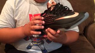 new style d8bf5 1c76c Sneaker Review  KD 7 Elite Rose Gold Collection ...