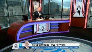 MLB Network Insider Peter Gammons Talks Baseball Hall of Fame & More - 1/18/17