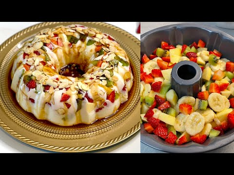 FABULOUS DESSERT IN 5 MINUTES to do immediately! ASMR # 162 - Ricette dolci