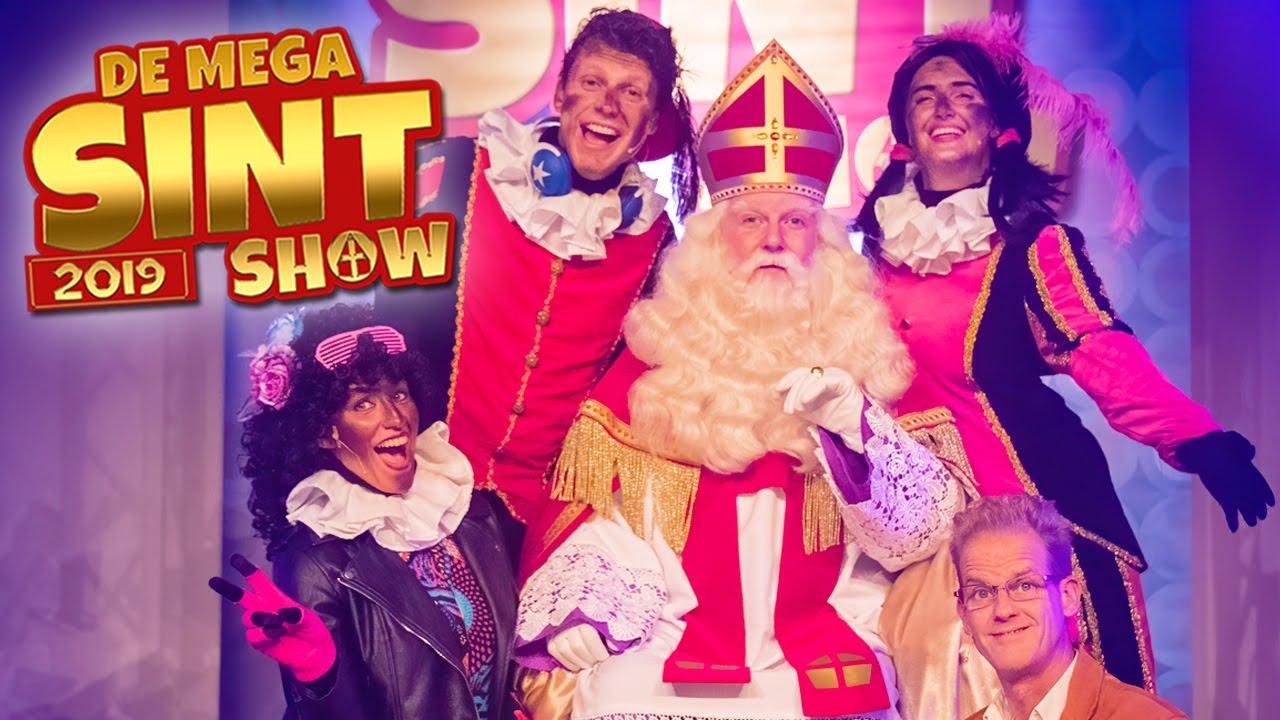 DE MEGA SINT SHOW 2019 - VOLLEDIGE SHOW!! - PARTY PIET PABLO