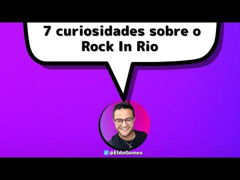 7 coisas e curiosidades do ROCK IN RIO 2021 ( Rock in Rio 2021) | Rock in Rio, Rock In Rio 2021