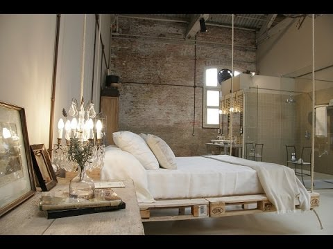 Muebles de dise o con palets youtube for Diseno industrial de muebles