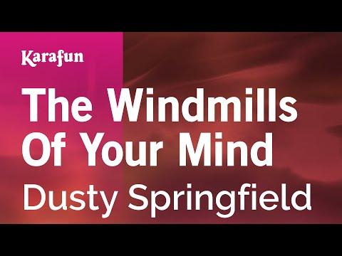 Karaoke The Windmills Of Your Mind - Dusty Springfield *