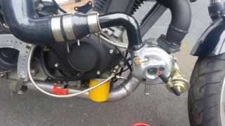 World first Buell Blast with a turbocharger!