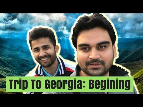 Travelling to Georgia VLOG (P1) flight and hotel stay