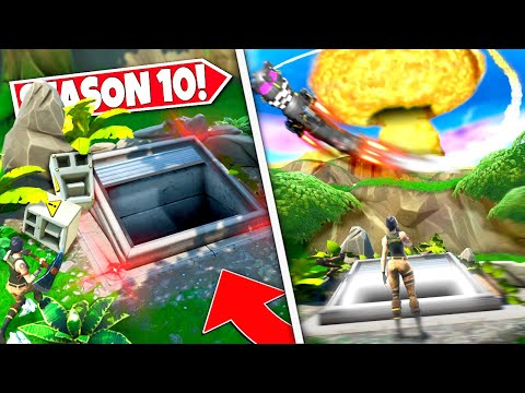 *NEW* MYSTERY SAFETY BUNKER *OPENING* DAYS BEFORE NEW ROCKET COUNTDOWN ISLAND DESTRUCTION EVENT!