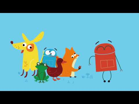 """Circles,"" Songs About Shapes by StoryBots on Vimeo"