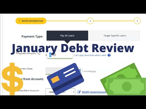 January 2021 Debt Review | Debt Payoff Update | Giveaway Winner Announcement