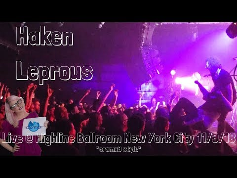 Haken & Leprous - LIVE @ Sold Out Highline Ballroom New York City *cramx3 concert experience* Mp3