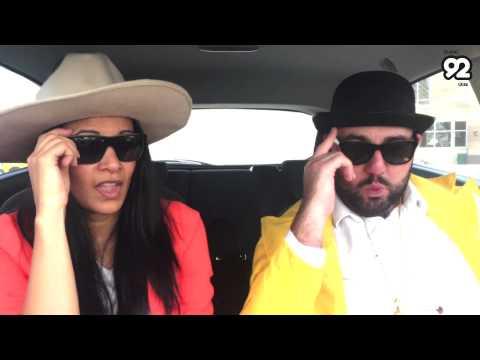 Harry & Pricey play Dubai 92 Car Karaoke
