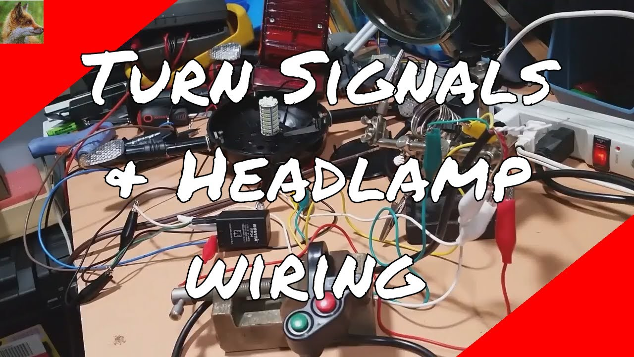 Tomos A3 - Turn signals & Headlamp - YouTube | Without Turn Signals Wiring Diagram For Tomos A3 |  | YouTube