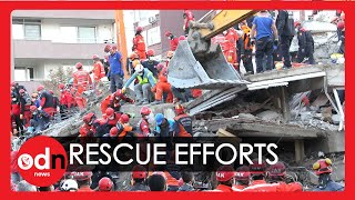 Turkey Earthquake: Dramatic Rescue Of Teenage Girl In Devastated Izmir