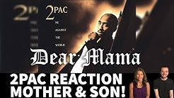 Mother and Son Reaction to 2Pac! Dear Mama Song Reaction!