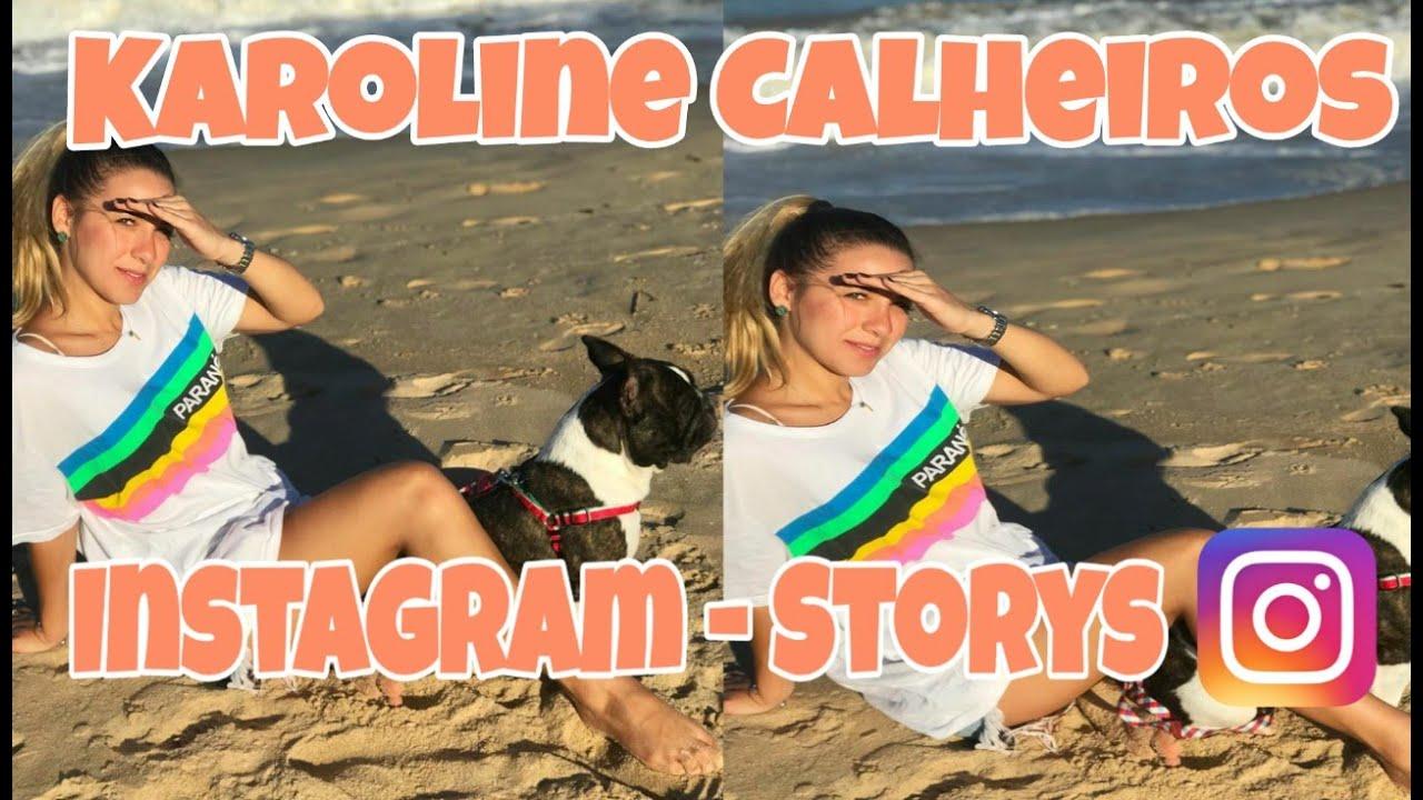 Karoline Calheiros   Instagram Storys   Noiva Do Cantor Gabriel Diniz  