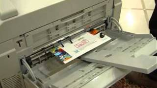 Digital printer which can print above 300 gsm