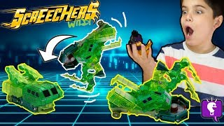 SCREECHERS Wild Cars Review and Play with HobbyKidsTV