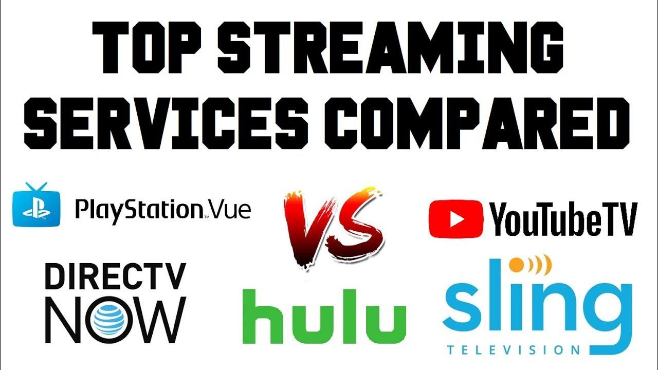 Live Tv Streaming Services Youtube Tv Vs Sling Tv Vs Directv Now