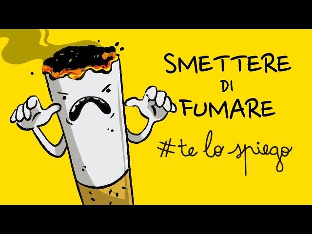 PERCHÉ NON RIESCI A SMETTERE DI FUMARE? #TELOSPIEGO!
